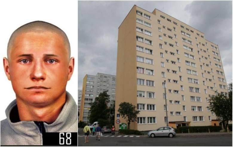 Tak wygląda mężczyzna, który zaatakował kobietę w windzie na Dąbrowie