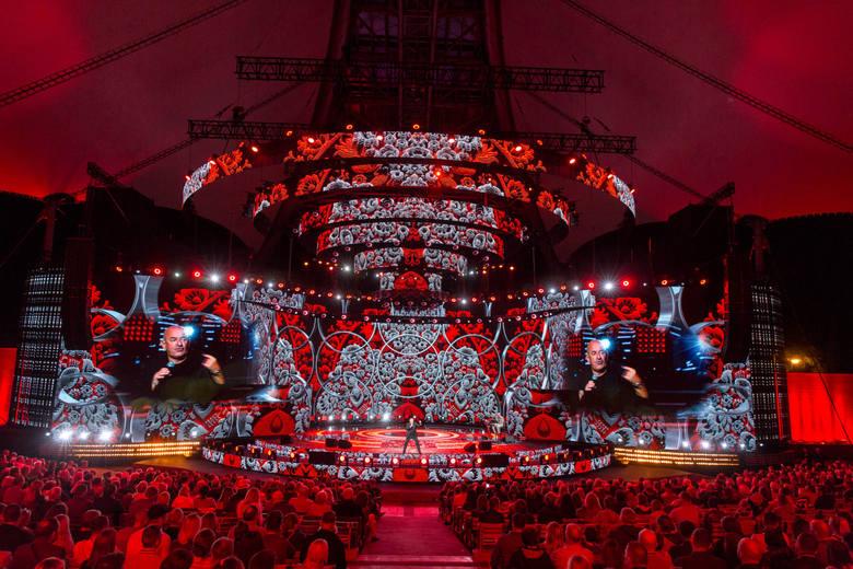 20 08 2017 sopot. top of the top festival. dzien 3 wieczor kabaretowy n/z  marcin daniec fot. piotr hukalo / dziennik baltycki / polska press