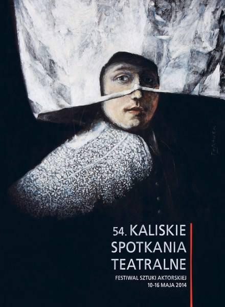 Plakat Kaliskich Spotkań Teatralnych