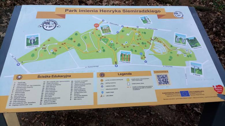 Park Siemiradzkiego jest już prawie gotowy