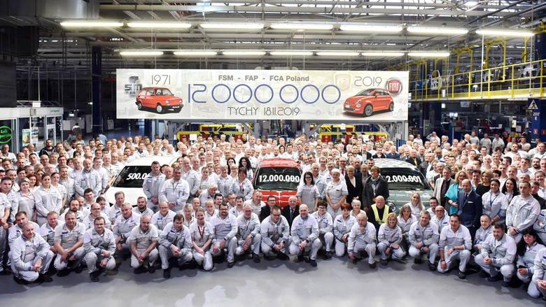 W tyskiej fabryce wyprodukowano 12-milionowy samochód w historii.