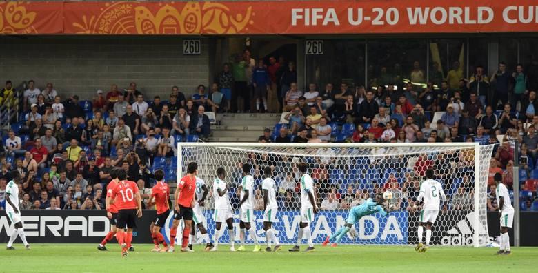 8.06.2019 bielsko-biala stadion miejski korea - senegal u20, korea - senegal u-20 fot. lukasz klimaniec dziennik zachodni polska press slask
