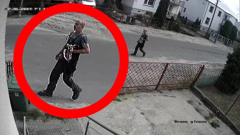 Według policjantów z Torunia to właśnie ten mężczyzna obrabował placówkę bankową przy ulicy Olsztyńskiej