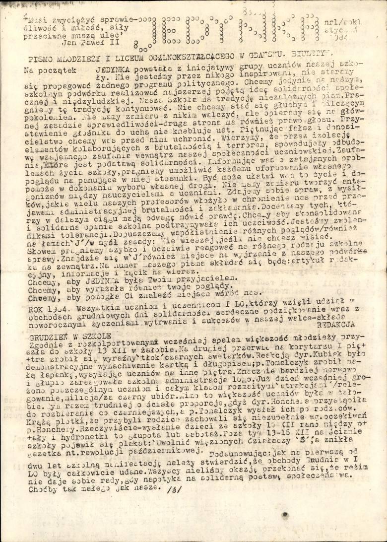 Gdański IPN publikuje materiały, na których widać zaangażowanie Pawła Adamowicza podczas strajków w 1988 roku
