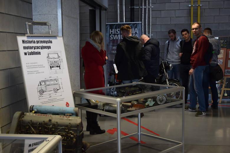 Historia przemysłu motoryzacyjnego w Lublinie. Wystawa na Politechnice Lubelskiej