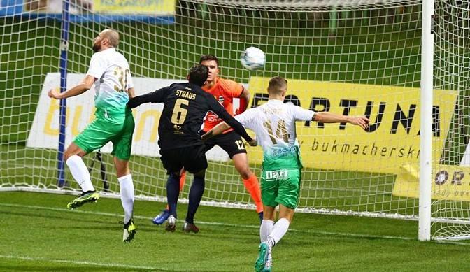 Radomiak Radom zdobył trzy bardzo cenne punkty w meczu ze Stomilem w Olsztynie. Gola na wagę wygranej w 59 minucie meczu strzelił Brazylijczyk, Leandro
