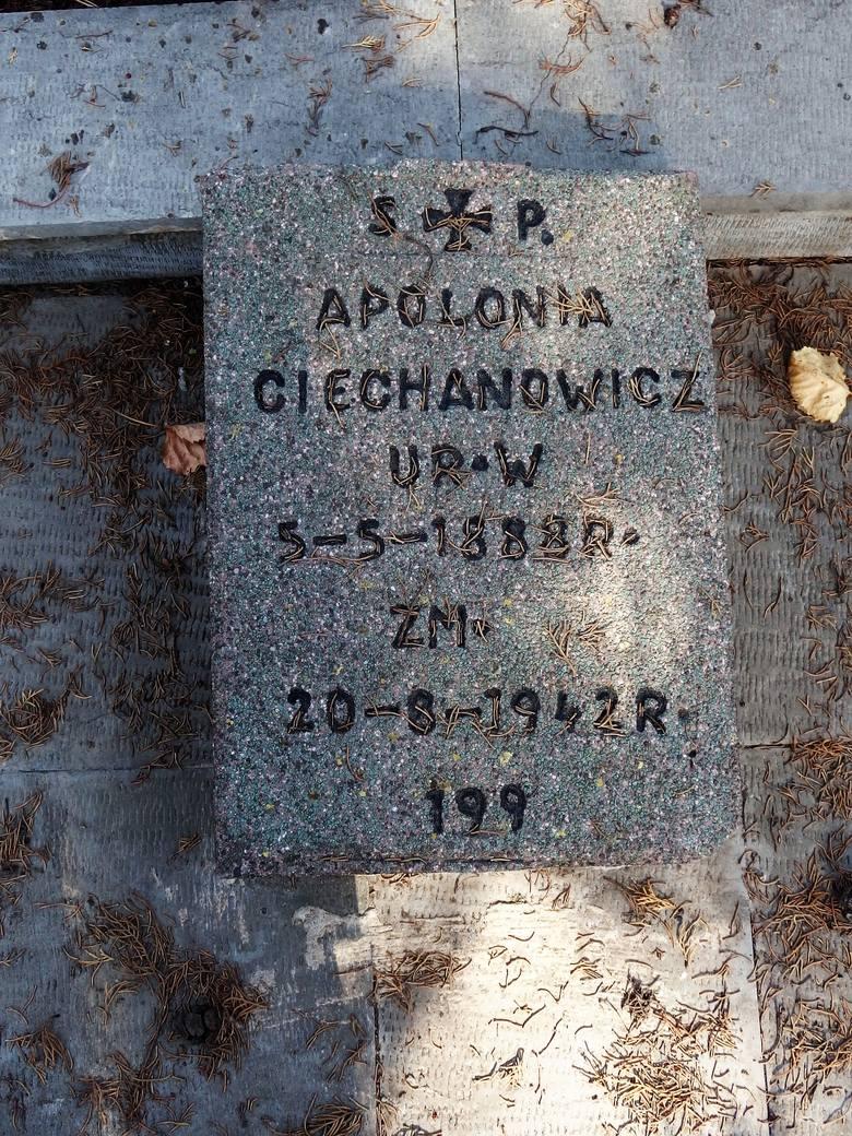 Apolonia miała 52 lata, kiedy udało się jej wydostać z zesłania...