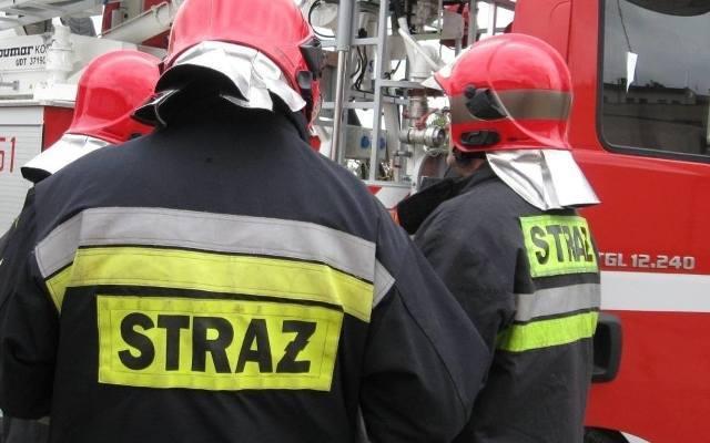 Strażacy z Rybnika udaremnili napad na salon jubilerski na rynku