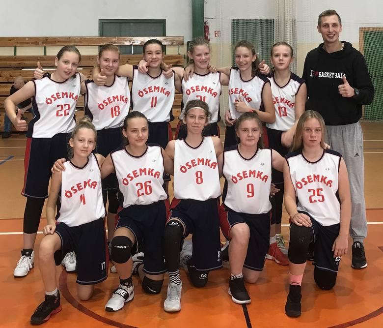 Wspaniały weekend koszykarek i koszykarzy z MKS Ósemki