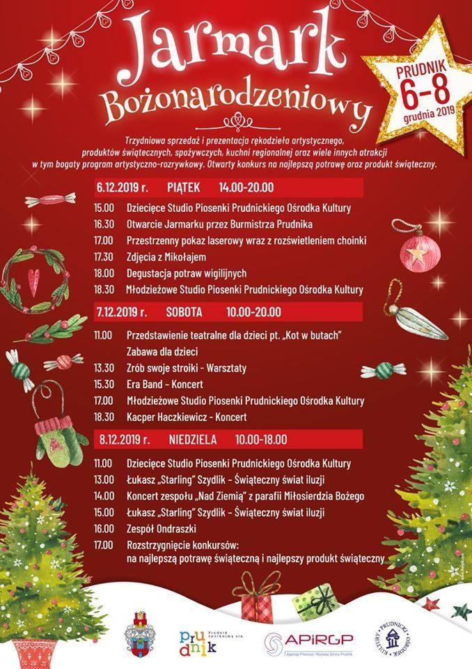 Jarmark świąteczny w Prudniku. Trzy dni pokazów, degustacji i świątecznych niespodzianek