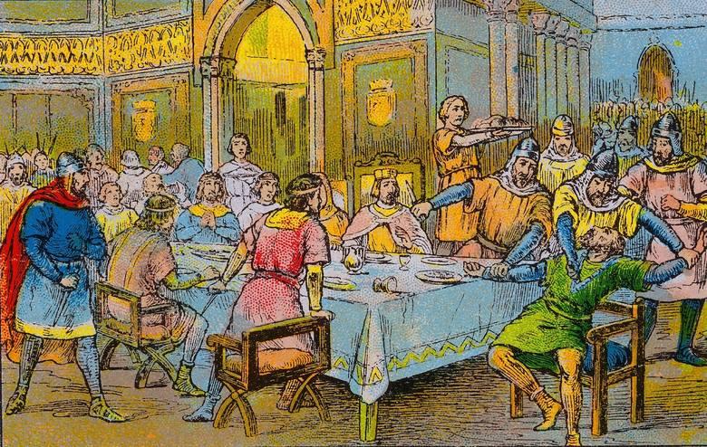 Wjazd Rogera de Flor i Almogowarów od Konstantynopola