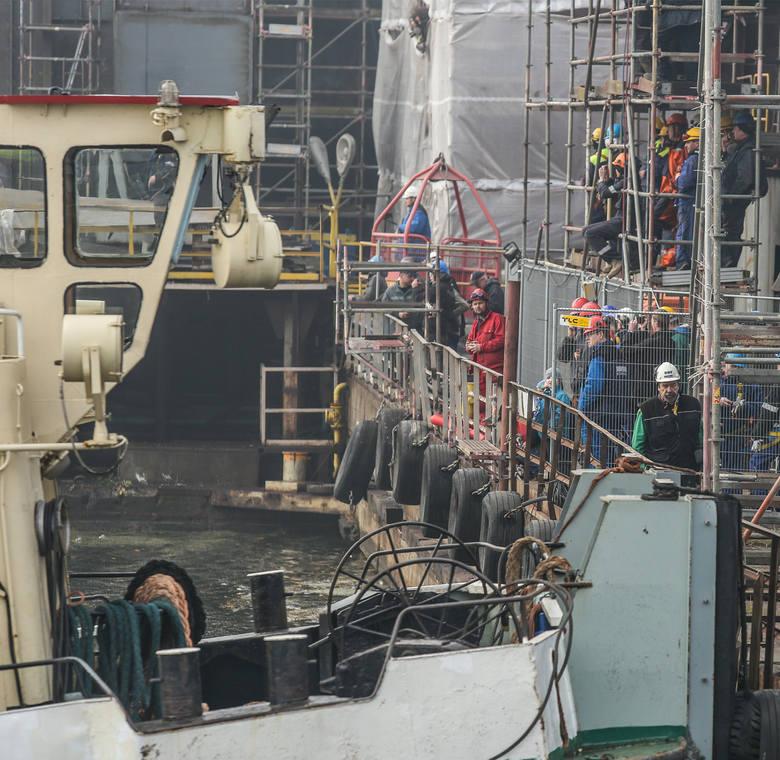"""Wodowanie żaglowca """"El-Mellah"""" w stoczni Remontowa Shipbuilding [WIDEO,ZDJĘCIA]"""