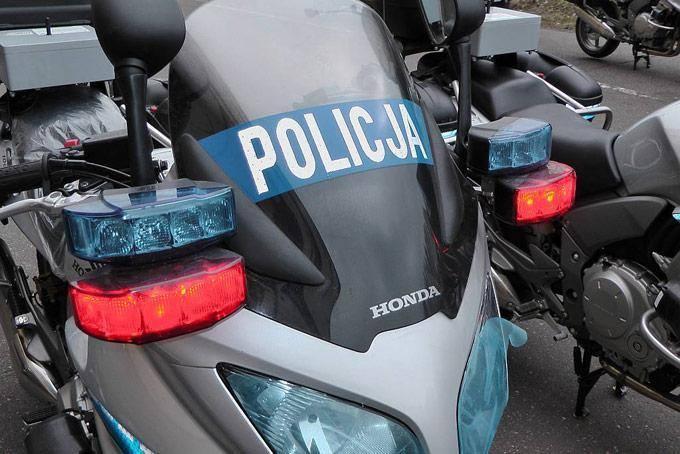 [wideo] Policjanci na motocykle