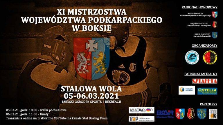 XI Mistrzostwa Województwa Podkarpackiego (pt. 18 - półfinały, s. 11 - finały, hala MOSiR w Stalowej Woli).