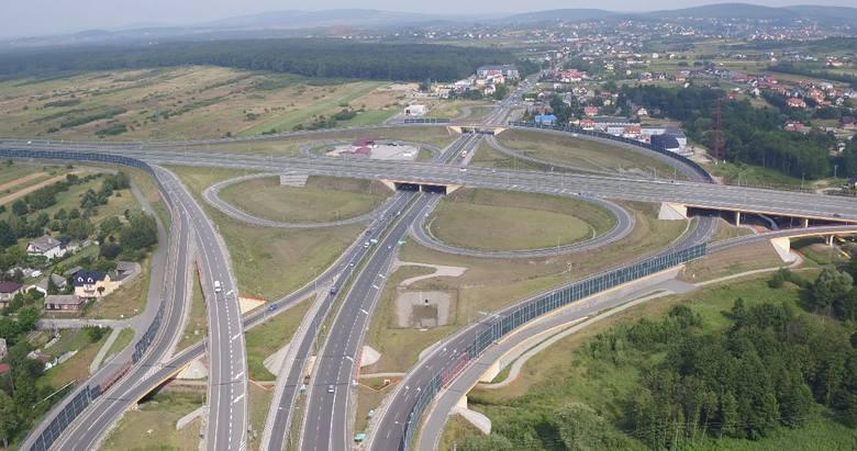 Węzeł Zachód to jeden z najbardziej charakterystycznych obiektów w północno-zachodniej części Kielc.<br />