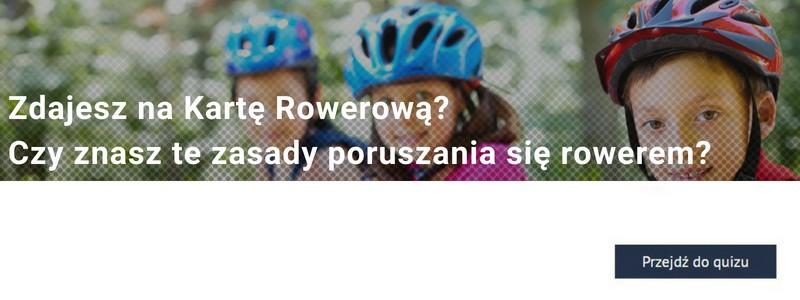 Zdajesz na Kartę Rowerową? Sprawdź, czy znasz te zasady poruszania się rowerem!