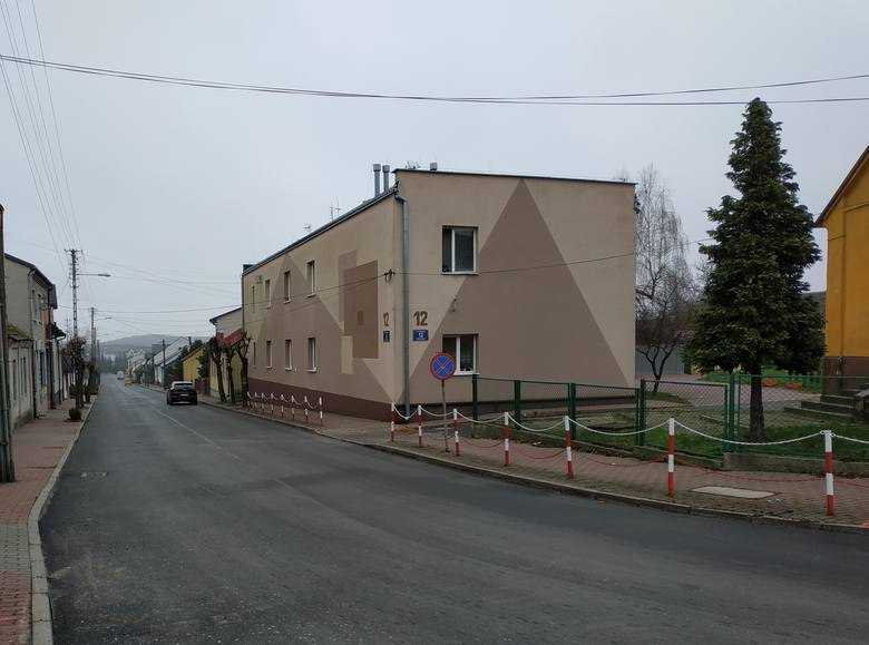Remont ulicy Warszawskiej w Małogoszczu