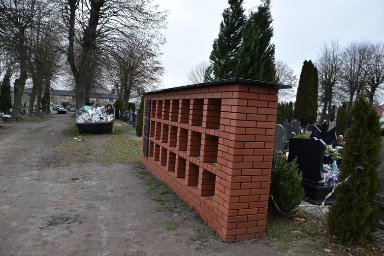 Na cmentarzu w Strzelcach Kraj. stanęła zniczodzielnia