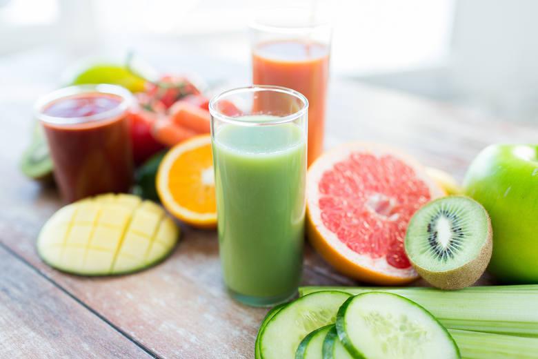 Bardzo ważne jest, by zachować różnorodność składników w przygotowanych przez nas sokach