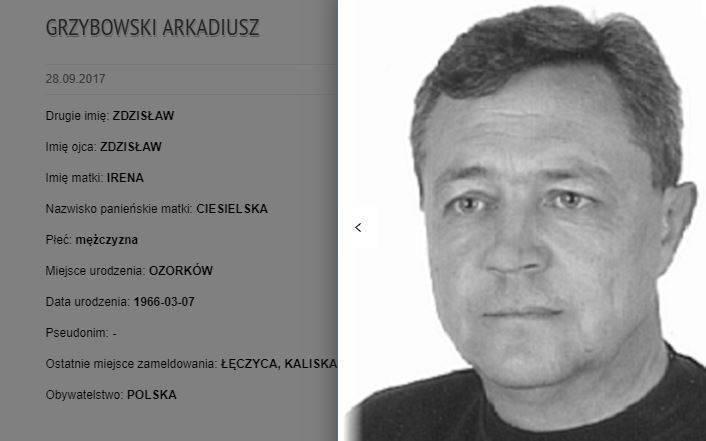 Podstawa poszukiwania przez jednostki policjiLD KPP Łęczyca, 99-100 Łęczyca,ul.Ozorkowskie Przedmieście 4.telefon: 024 721 11 00,024 721 11 44.email: