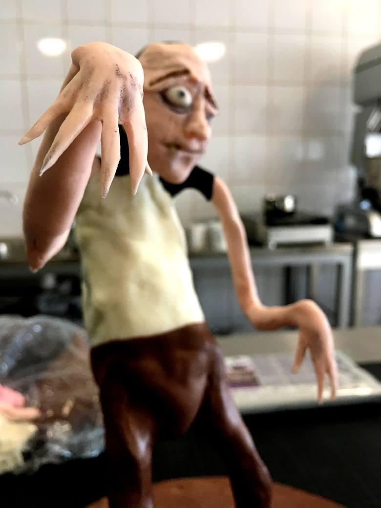 TU BYŁAM odc. 24. Kasia Kapusta uczyła się robić figurki z cukru i czekolady
