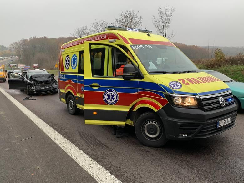 Do zdarzenia doszło w piątek po godz. 14 na ul. Krakowskiej w Przemyślu - to fragment drogi krajowej nr 77. Na pasie ruchu w kierunku Żurawicy, kierująca