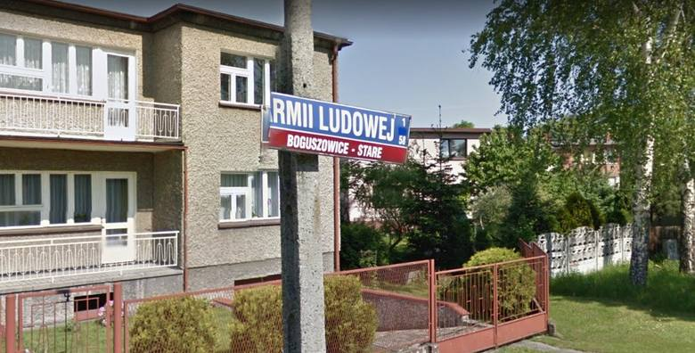 Ulica Armii Ludowej miała być ulicą Baśniową. Wojewoda przeforsował swoją nazwę