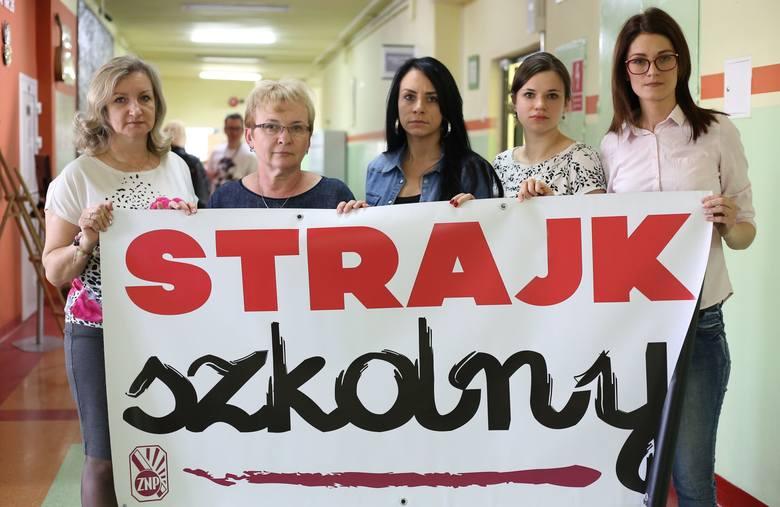 Strajk w szkołach