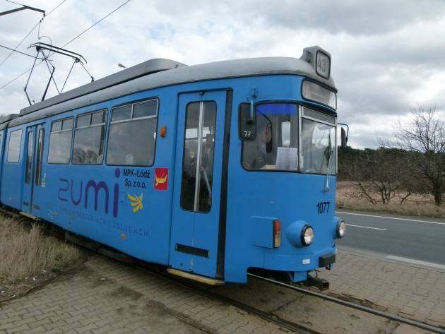 Tramwaje z Niemiec kursują już w Łodzi na trasach podmiejskich.