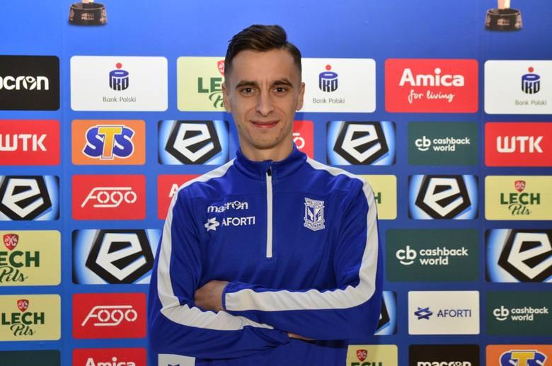 Juliusz Letniowski był najlepszym piłkarzem rezerw Lecha Poznań w Stargardzie. Strzelił gola i dodał asystę
