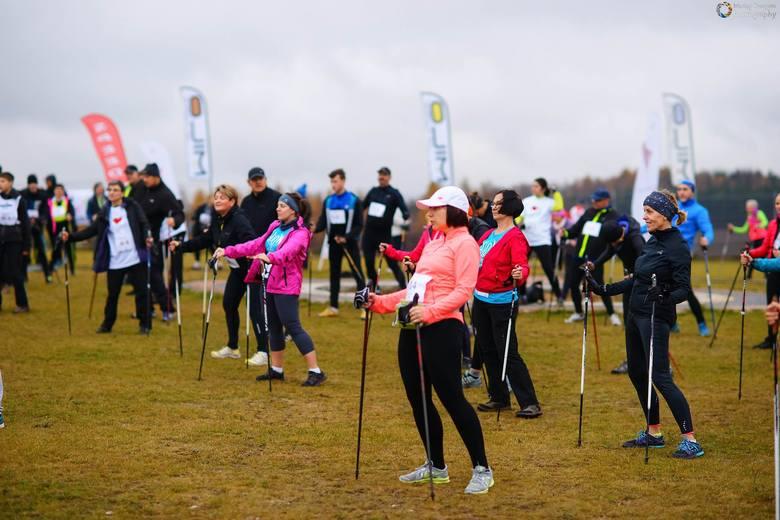 Jurajskie Mistrzostwa w Półmaratonie Nordic Walking [ZDJĘCIA]