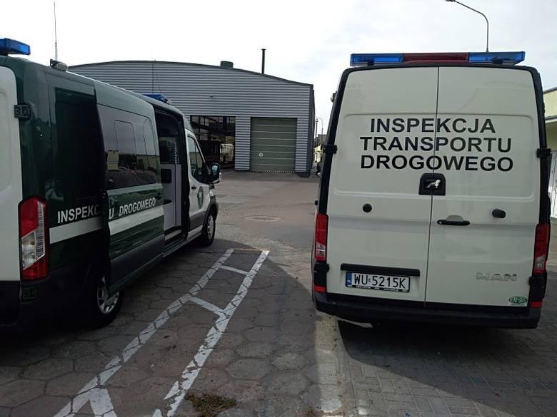 Kujawsko-pomorscy inspektorzy Wojewódzkiego Inspektoratu Transportu Drogowego przeprowadzili działania ukierunkowane na kontrolę stanu technicznego autobusów,