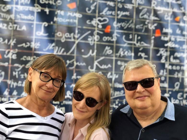 Z ukochanymi kobietami: córką Alicją i żoną Małgosią, które od zawsze wspierają ojca i męza w walce z chorobą