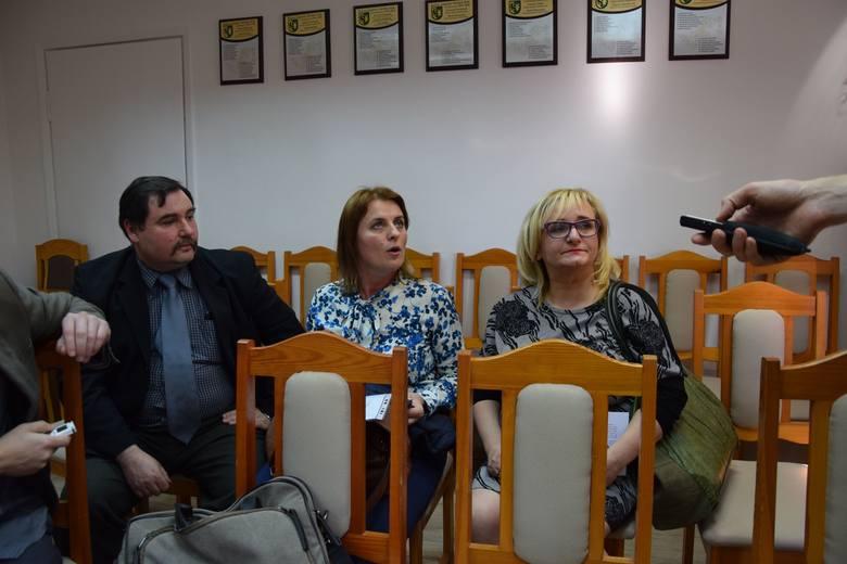 Od lewej Zbigniew Ogrodniczuk, Monika Ostrowska i Marzena Ryżów