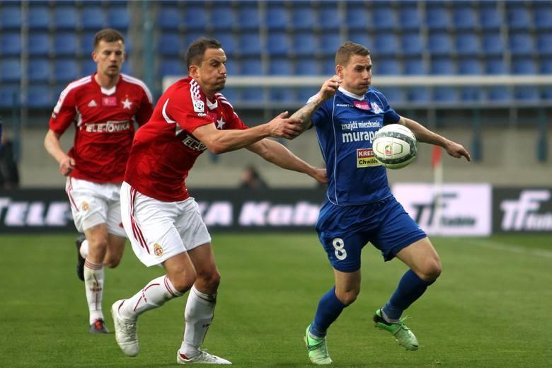 Damian Chmiel w barwach Podbeskidzia rozegrał 104 mecze w ekstraklasie, w których zdobył 17 goli