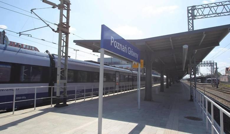 Remont peronów na stacjach Poznań Wola i Kiekrz jest jednym z elementów modernizacji trasy kolejowej z Poznania do Szczecina, która rozpoczęła się kilka