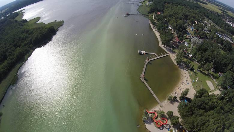 jezioro sławskie skażenie wody