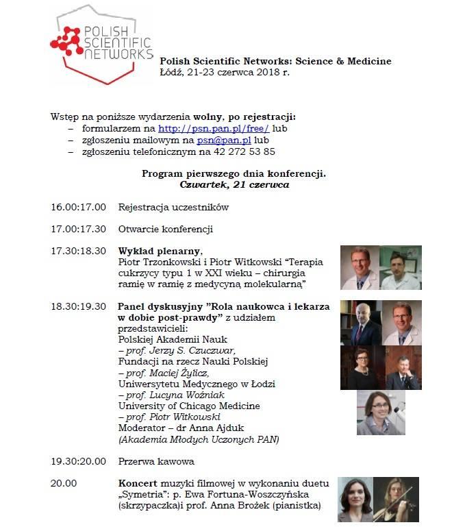 Polish Scientific Networks w Łodzi, czyli największa konferencja naukowa. Naukowcy i lekarze o cukrzycy i medycynie molekularnej