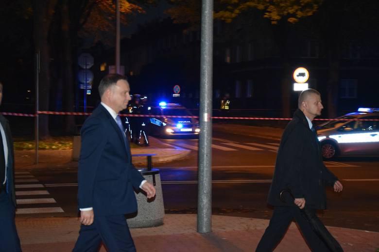 Oświęcim. Prezydent Andrzej Duda odwiedził w domu poszkodowanego w kolizji chłopca [AKTUALIZACJA. ZDJĘCIA]