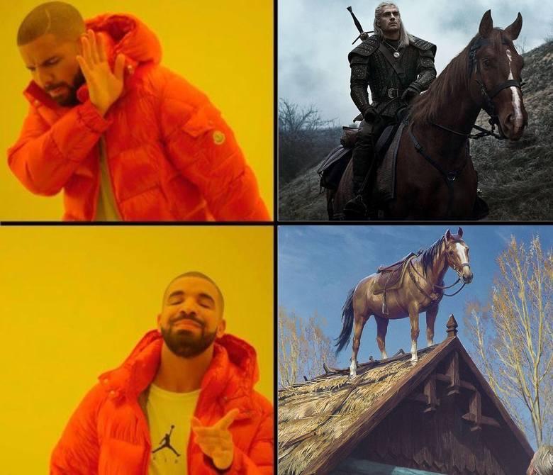 Wiedźmin 3 MEMY. Choć od premiery trzeciej części wirtualnych przygód Geralta z Rivii minęły ponad cztery lata, gra wciąż potrafi zaskakiwać. Nie tylko