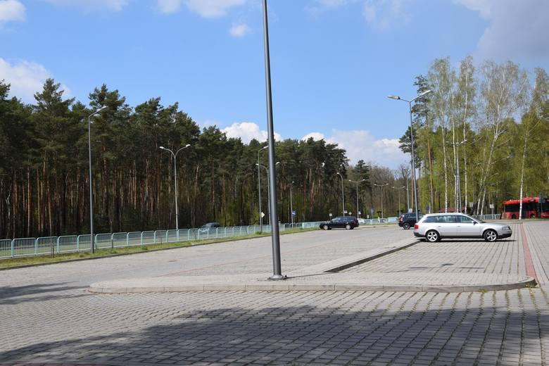Nowy parking przy szpitalu w Nowej Soli ma pomieścić 200 samochodów. Co z lasem na tej działce?