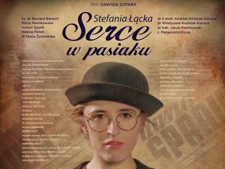"""Na kanwie biografii Stefani Łąckiej w 2018 roku został nakręcony fabularyzowany dokument, zatytułowany """"Serce w pasiaku"""""""