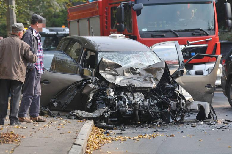 wypadek w Gorzowie