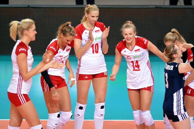Od prawej - Joanna Wołosz i Zuzanna Efimienko-Młotkowska. Z lewej Agnieszka Kąkolewska. Wszystkie grały w Gwardii