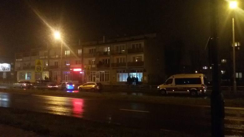 Napad na bank w Sosnowcu. Jeden z bandytów został zastrzelony