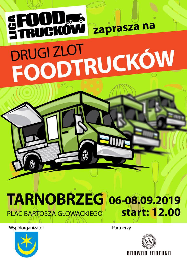 II Zlot Food Trucków w Tarnobrzegu od 6 do 8 września