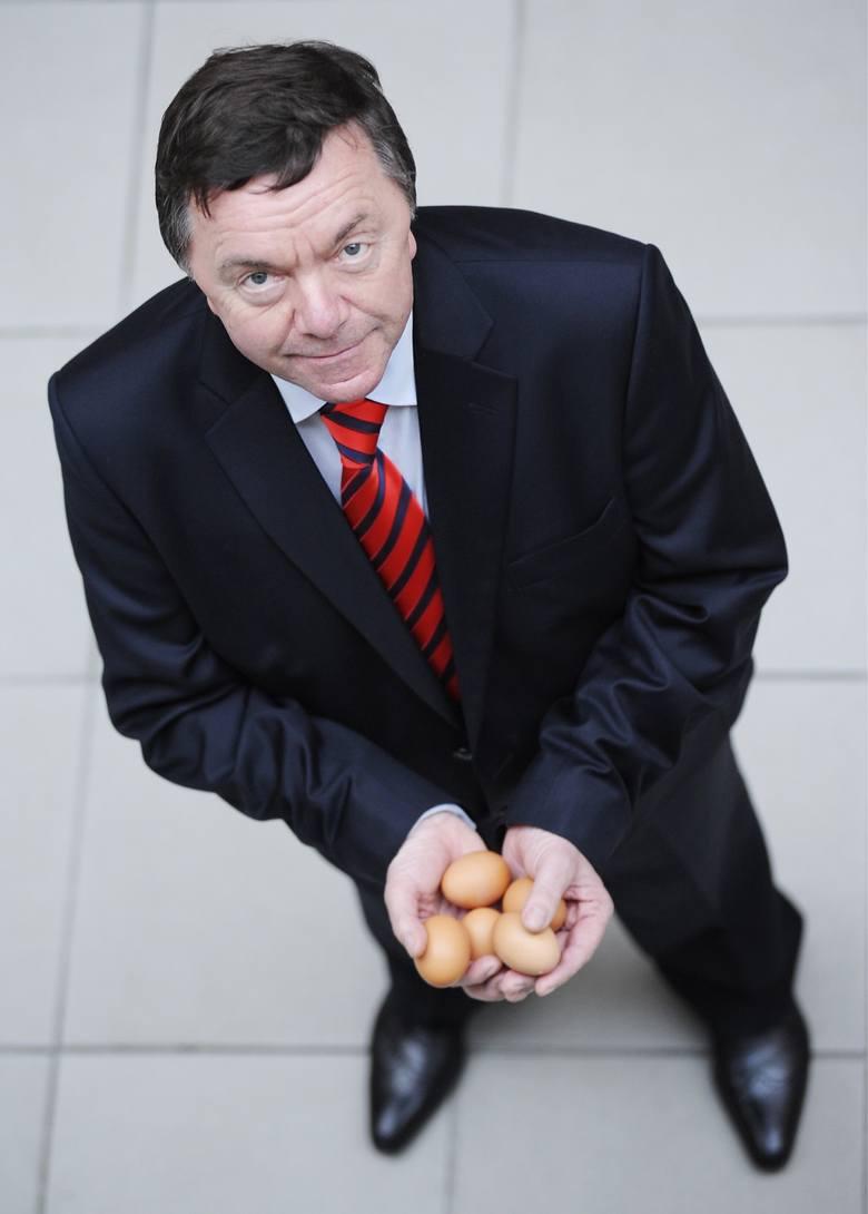 Prof. Tadeusz Trziszka Dolnoślązakom znany jest jako wybitny znawca i propagator jajek