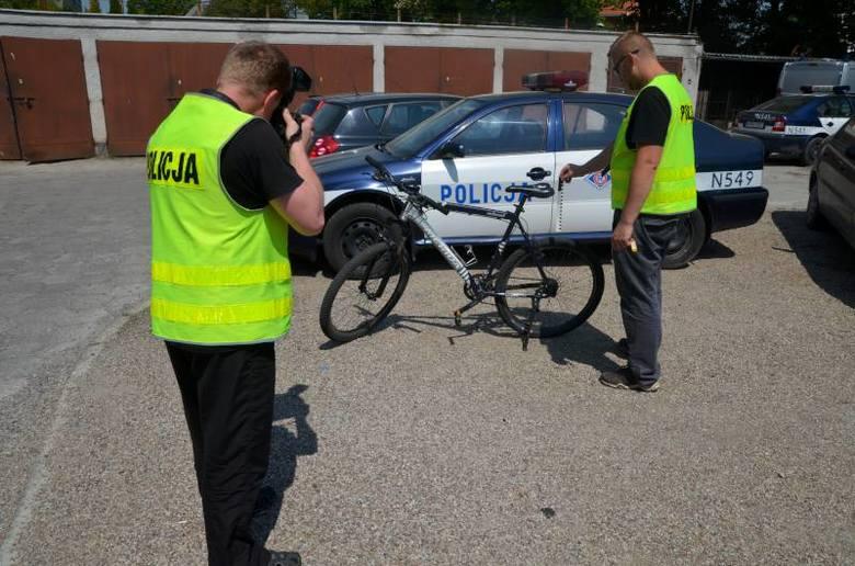 Skradziony rower trafił już do właścicielki