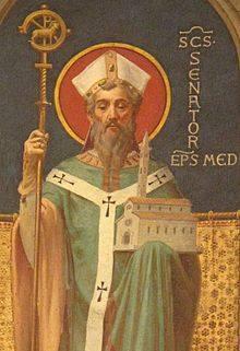 Św. Senator. Biskup Mediolanu w V wieku