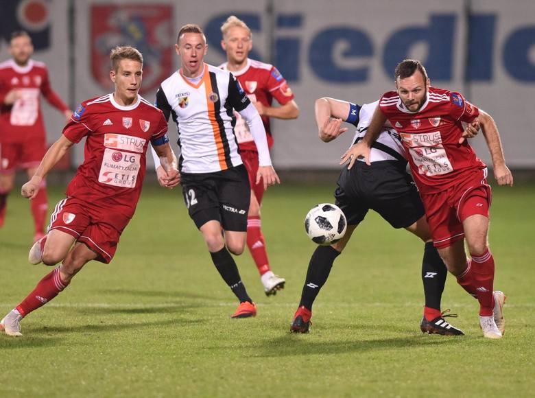 Chrobry Głogów pokonał na wyjeździe Pogoń Siedlce i to pierwszoligowiec zagra w 1/8 Pucharu Polski.